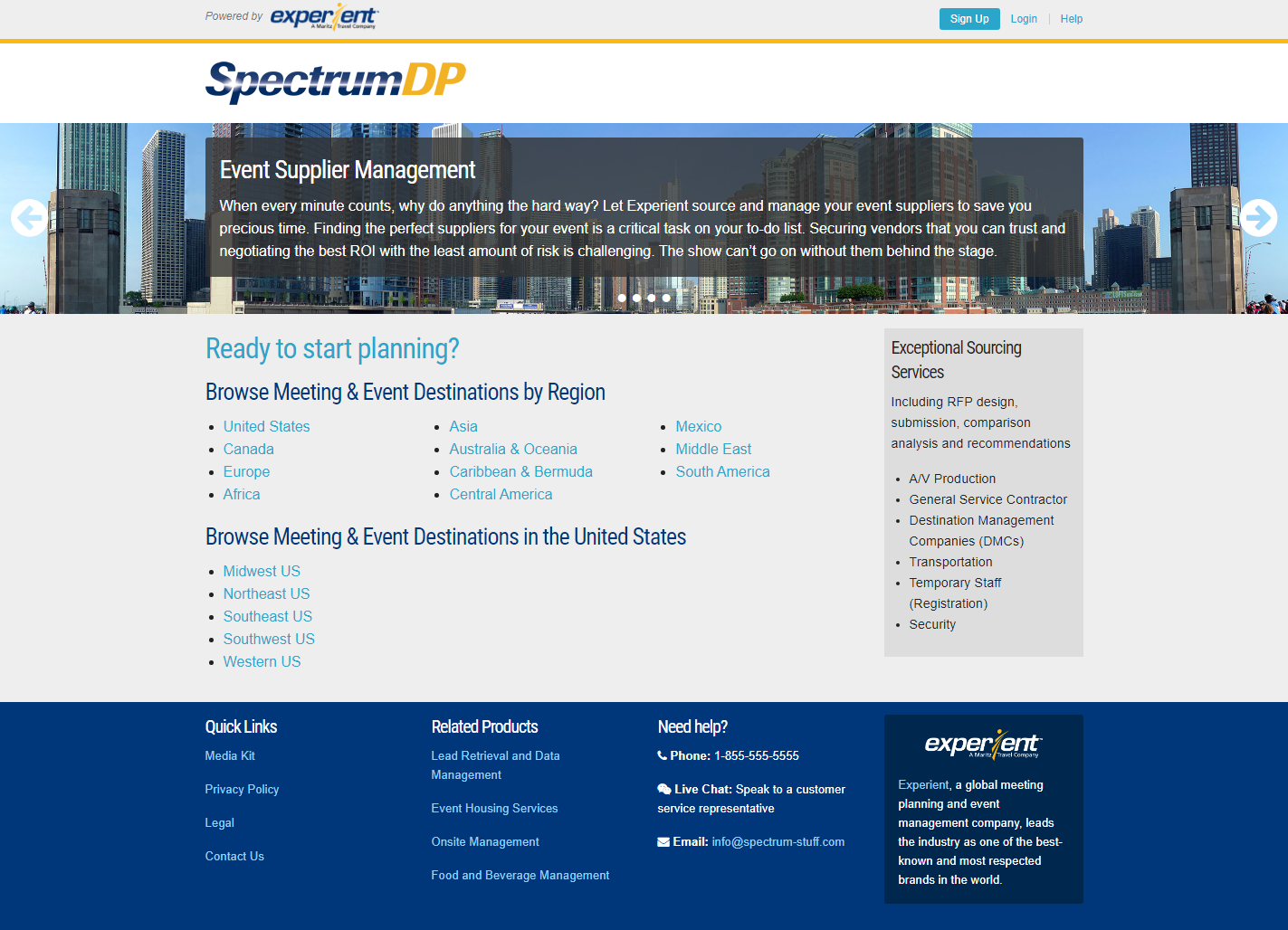 SpectrumDP Website
